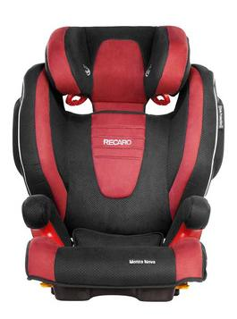 recaro 瑞凯威 莫扎特2代系列 汽车儿童安全座椅 红色