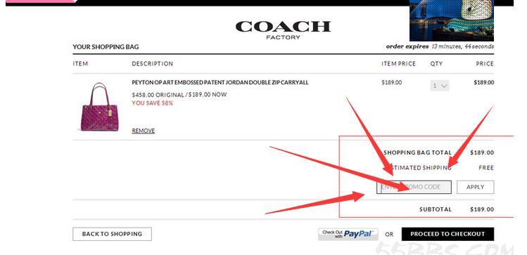 coach优惠码怎么用