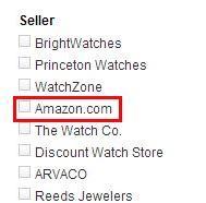 筛选美亚马逊自营商品