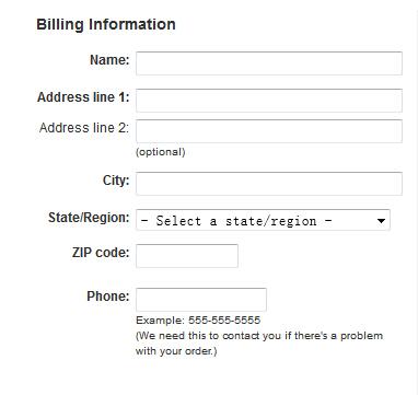 drugstore账单地址