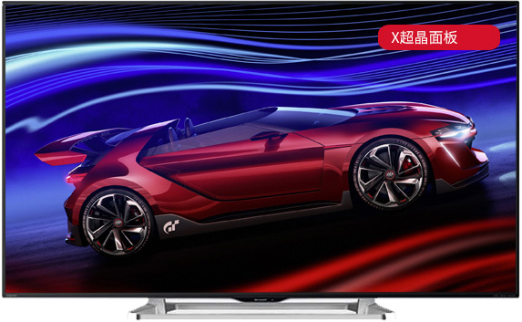 sharp 夏普 lcd-60lx565a 60英寸 智能液晶电视